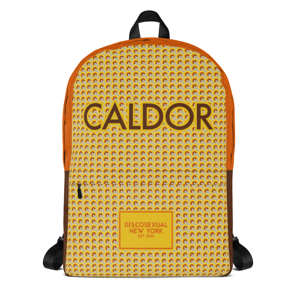 "DISCOSEXUAL ""Caldor"" Patterned Backpack"