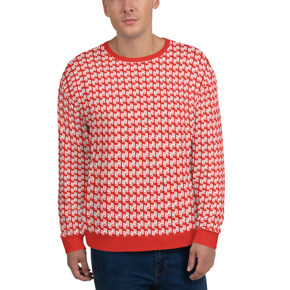 "DISCOSEXUAL ""Red Monogram"" Sweatshirt"
