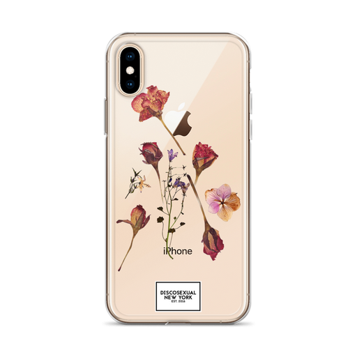 "DISCOSEXUAL ""Pressed Flowers"" iPhone Case"