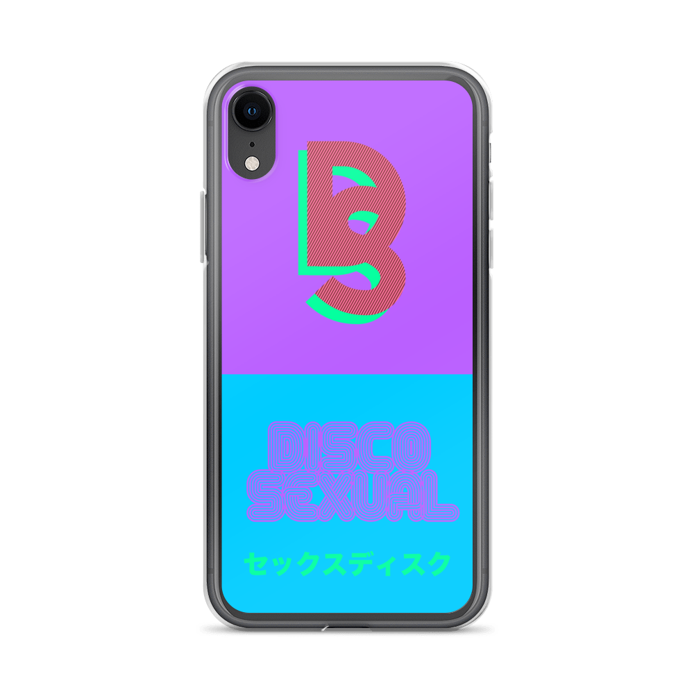 "DISCOSEXUAL ""Vaporwave"" iPhone Case"