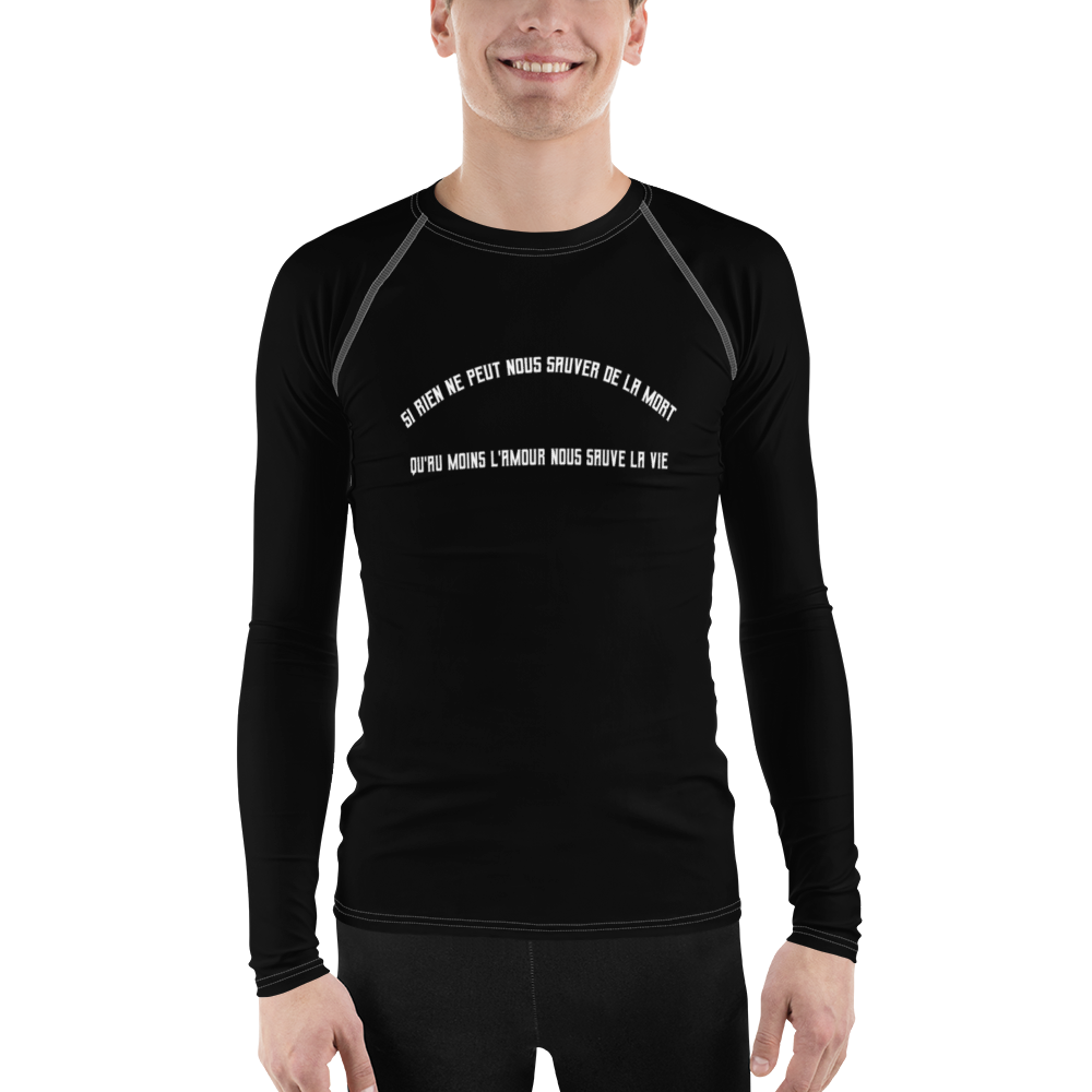 "DISCOSEXUAL ""L'amour Nous Sauve"" Mourant Athletic Shirt"