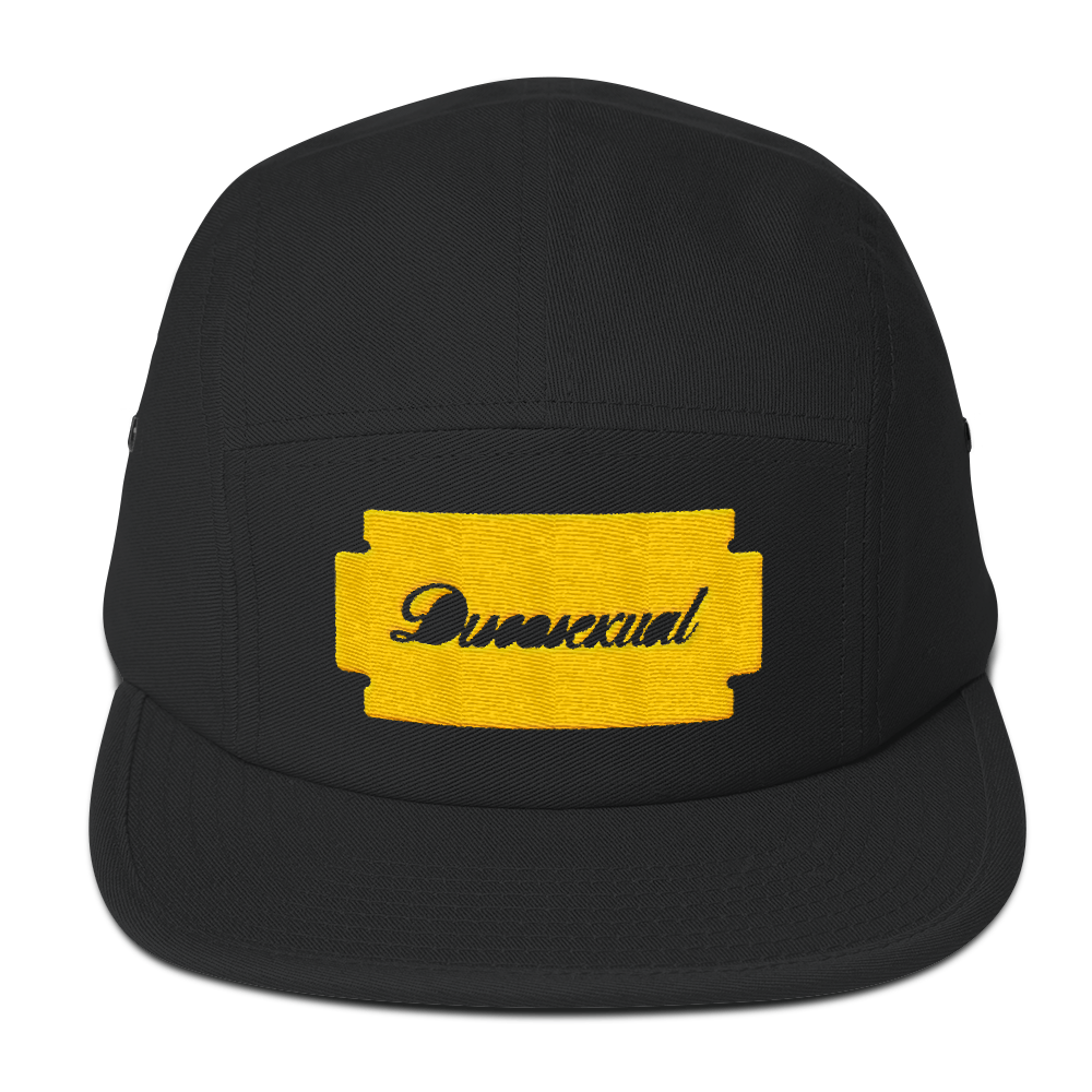 "DISCOSEXUAL ""Gold Razor"" Camp Cap"