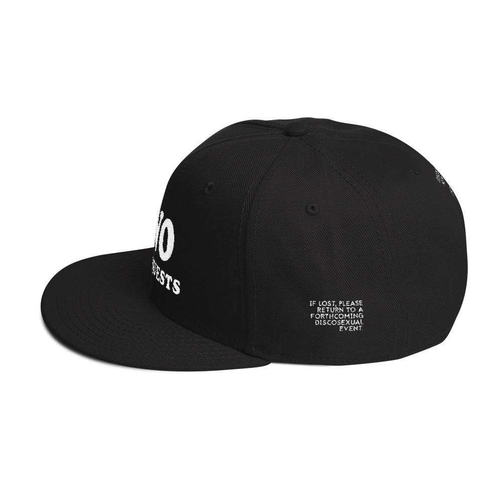 "DISCOSEXUAL ""No Requests"" Snapback"