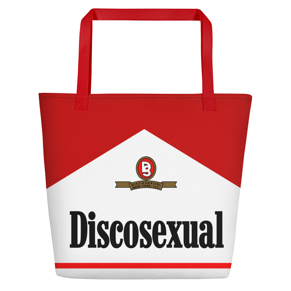 "DISCOSEXUAL ""Vices"" Tote"