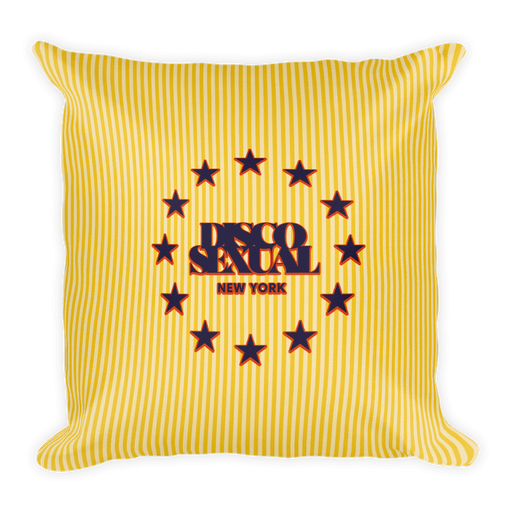 "DISCOSEXUAL ""Stars and Stripes"" Cushion"