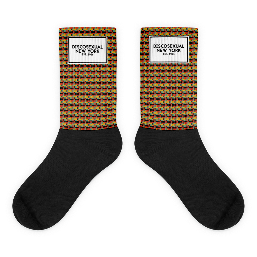 "DISCOSEXUAL ""Greg"" Socks"