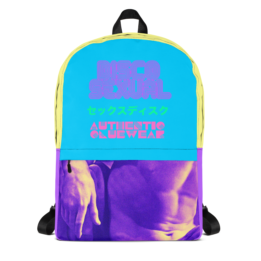 "DISCOSEXUAL ""Vaporwave"" Backpack"