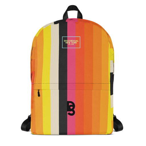 DISCOSEXUAL Striped Backpack