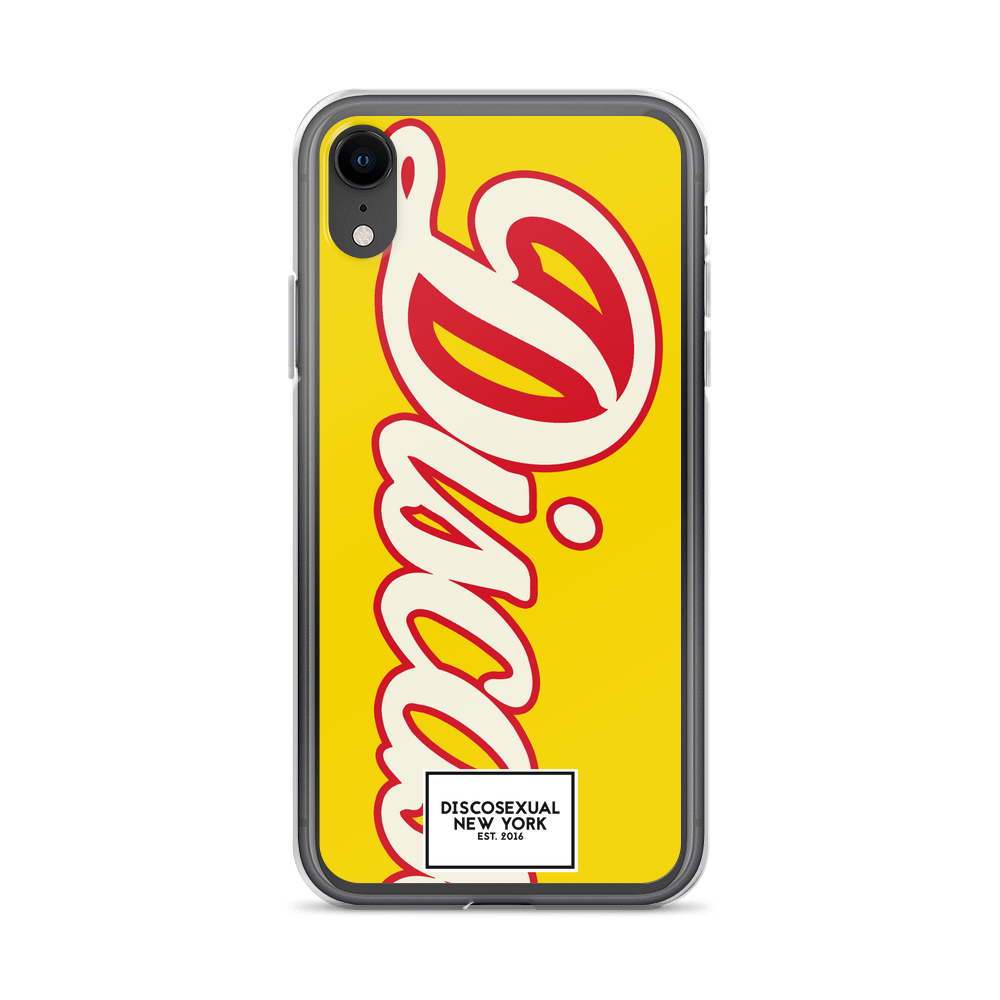 "DISCOSEXUAL ""Limoncello"" iPhone Case"