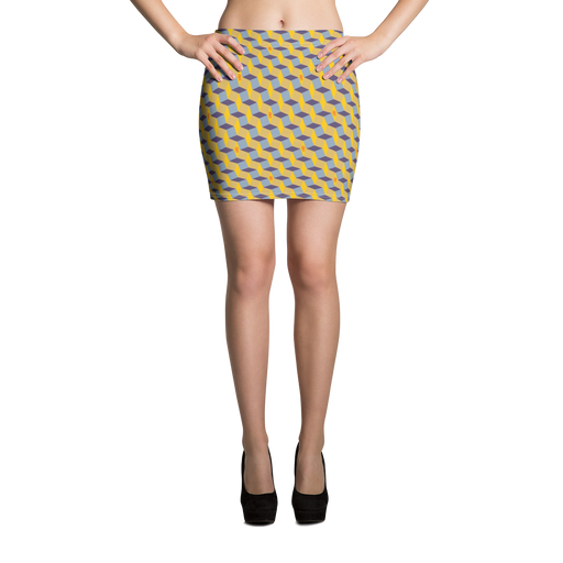 "DISCOSEXUAL ""Geometric"" Skirt"