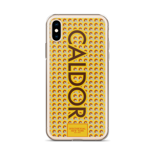 "DISCOSEXUAL ""Caldor"" Patterned iPhone Case"