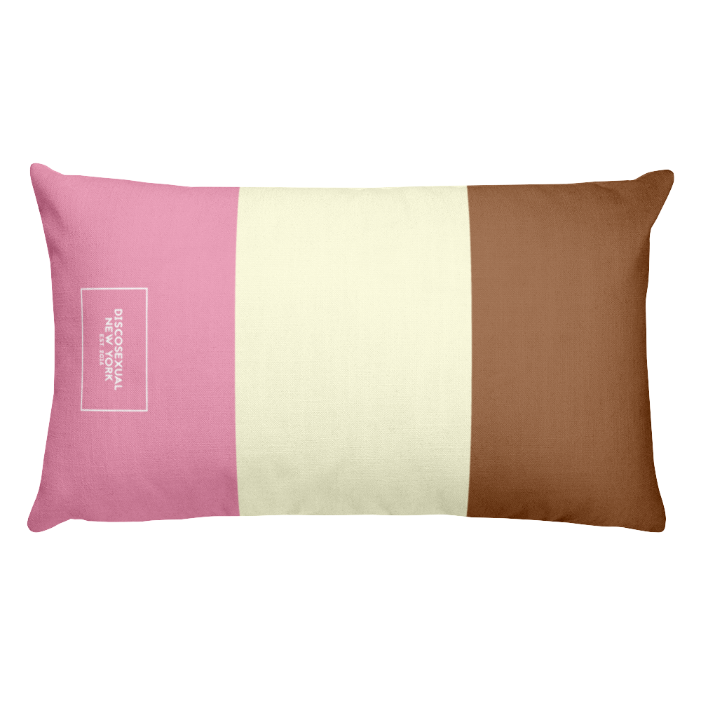 "DISCOSEXUAL ""Neapolitan"" Cushion"