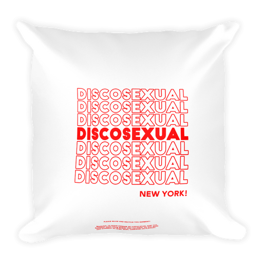 "DISCOSEXUAL ""THANK YOU!"" Cushion"