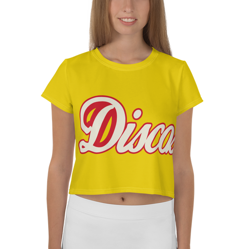"DISCOSEXUAL ""Limoncello"" Crop T-Shirt"