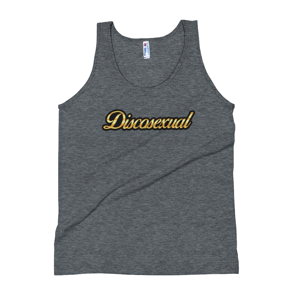 "DISCOSEXUAL ""Solid Gold"" Tank Top"