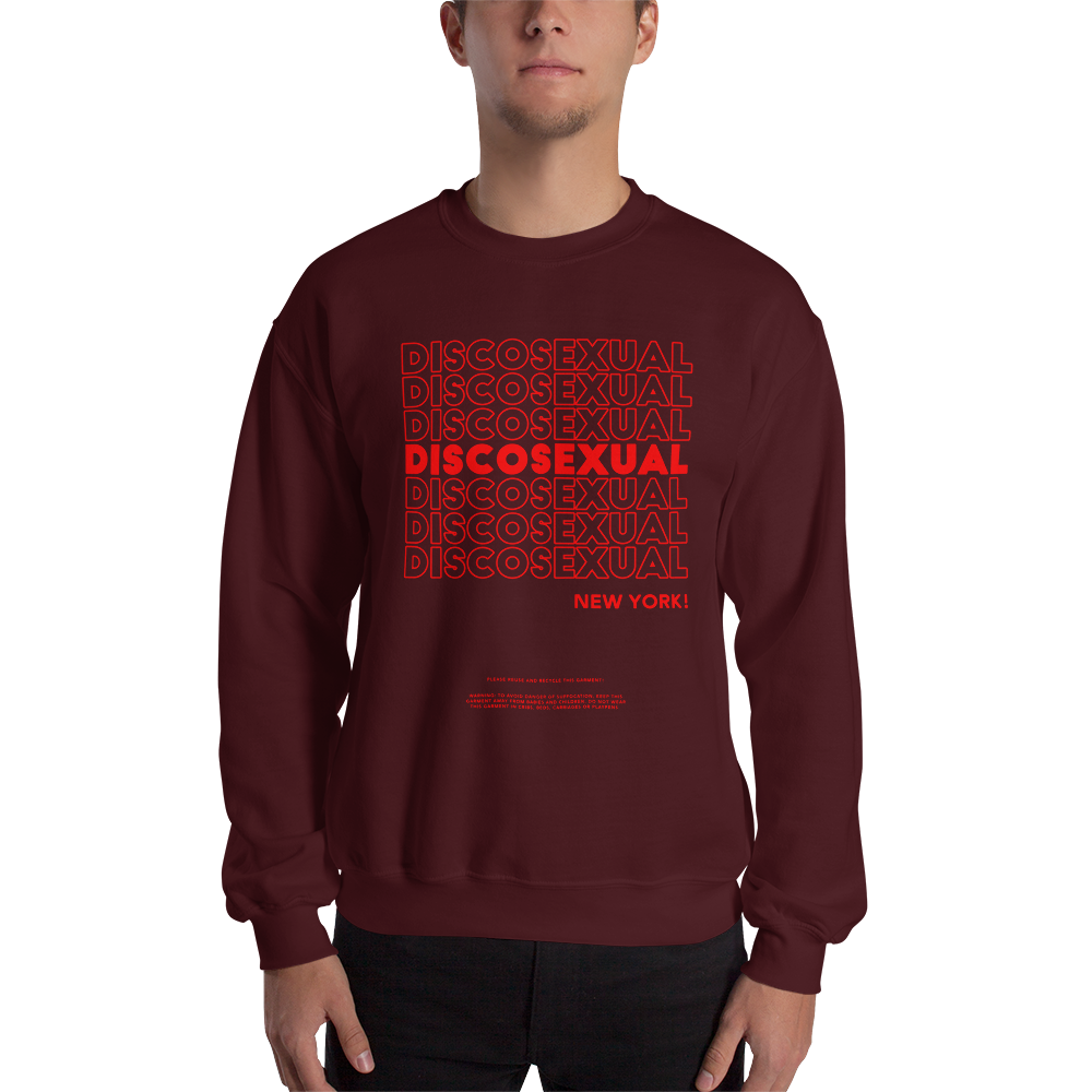 "DISCOSEXUAL ""Thank You!"" Sweatshirt"