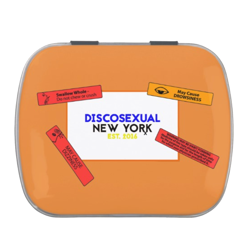 DISCOSEXUAL Pill Container
