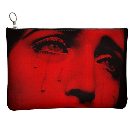 "DISCOSEXUAL ""Sadness"" Leather Pouch"