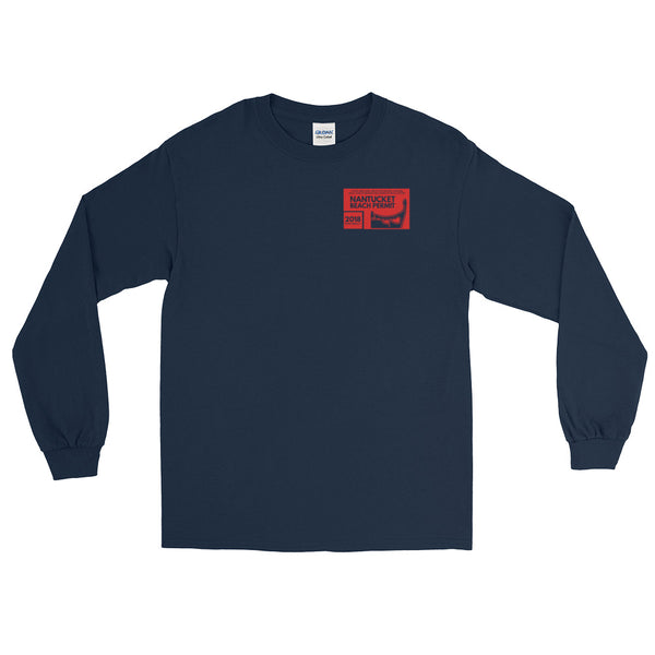 2018 Nantucket Beach Permit Long Sleeve T-Shirt