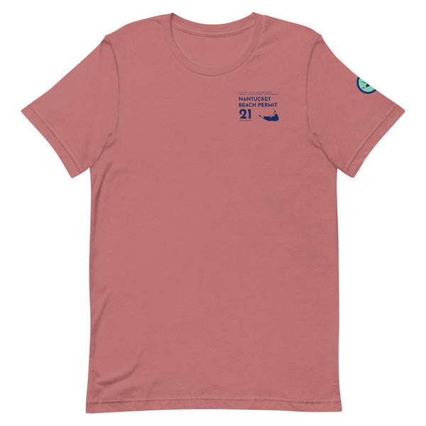 Men's Nantucket Beach Permit 2021 T-Shirt