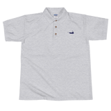 Nantucket Island Embroidered Polo Shirt