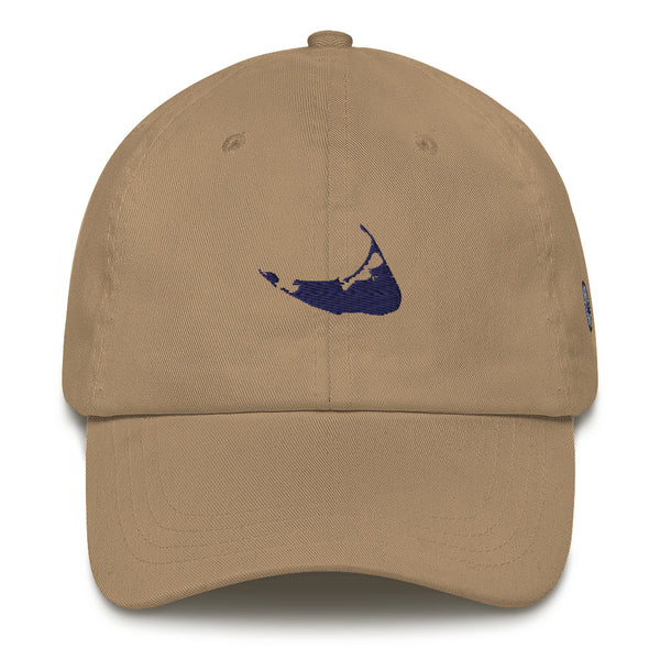 Embroidered Nantucket Island Hat