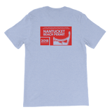 2018 Nantucket Beach Permit Short-Sleeve Unisex T-Shirt