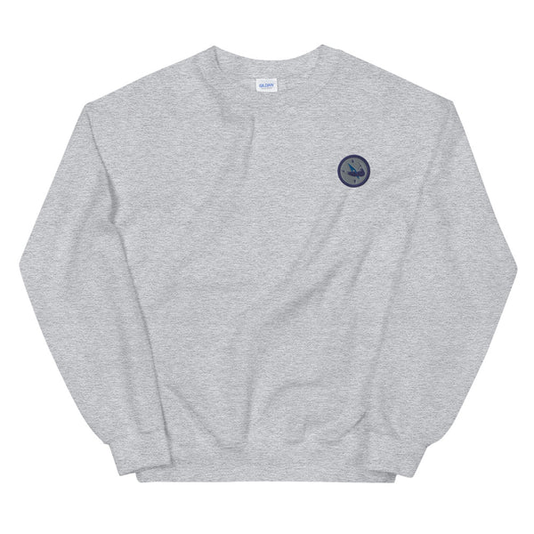 Embroidered Nantucket Island Sweatshirt