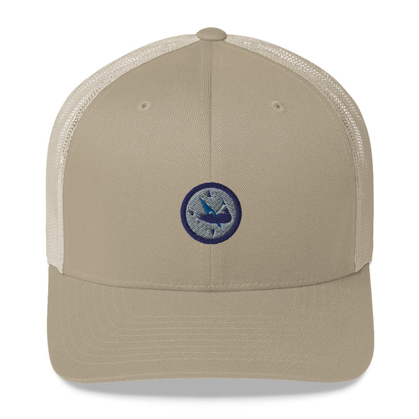 Embroidered Mesh Nantucket Hat