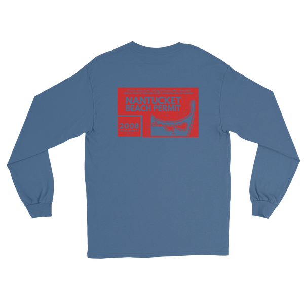 2008 Nantucket Beach Permit Long Sleeve T-Shirt