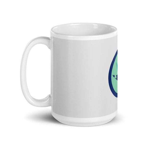 Grey Nantucket Coffee Mug