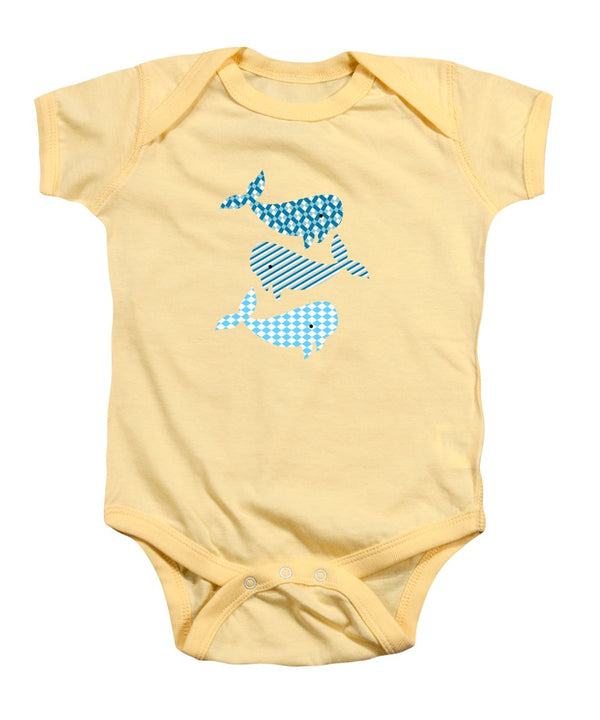 Whale Whale Whale Nautical Design - Baby Onesie