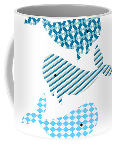 Whale Whale Whale Nautical Design Coffee Mug