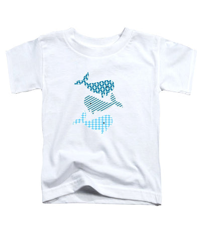Whale Whale Whale Nautical Design - Toddler T-Shirt