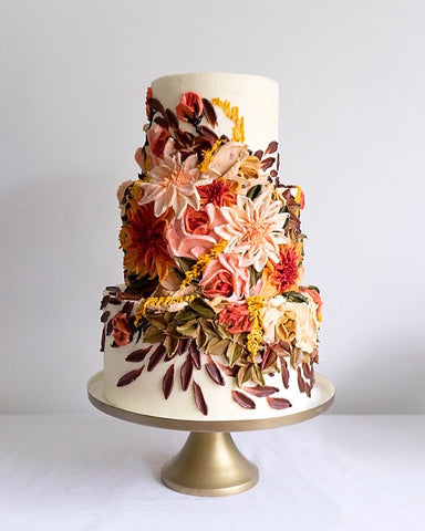Miri's Wedding Cakes, Signature Techniques, and Gorgeous Cake Designs
