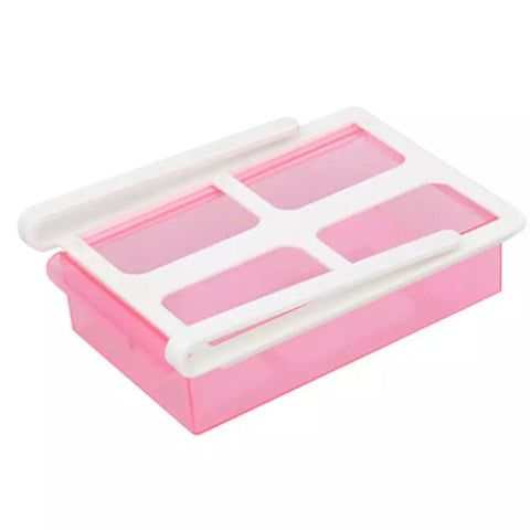 Sliding Fridge Drawer - Pink - Go Go Kitchen Gadgets
