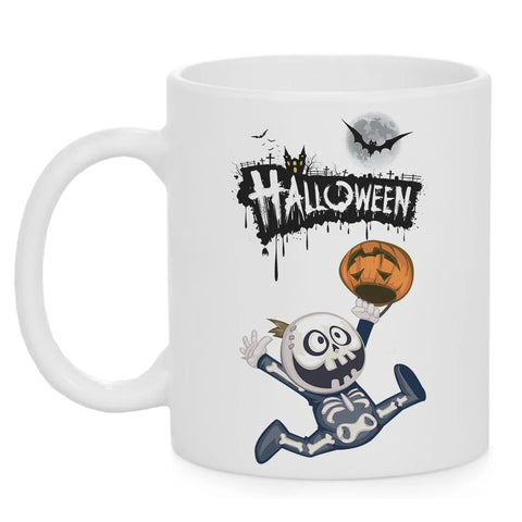 Ceramic 11 oz Coffee Cup - Yay! Halloween - Go Go Kitchen Gadgets