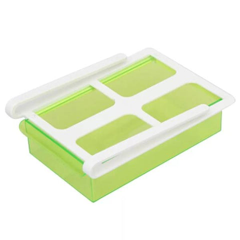 Sliding Fridge Drawer - Green - Go Go Kitchen Gadgets