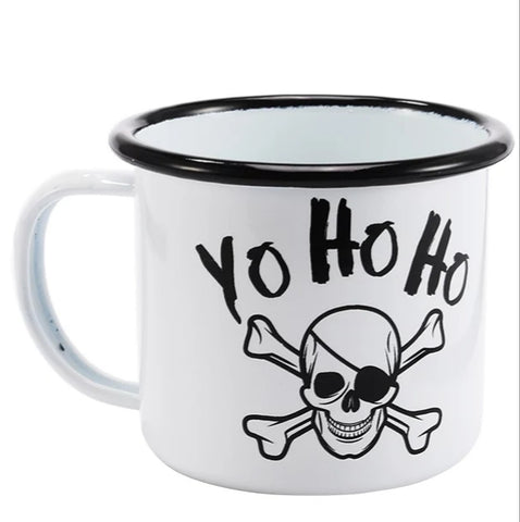 Ceramic Coffee Mug - Pirate Yo Ho Ho - Go Go Kitchen Gadgets