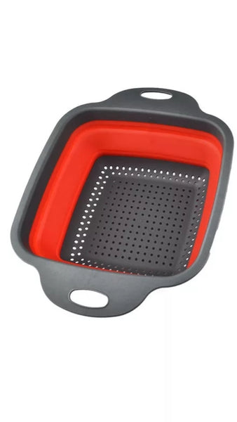 "Collapsible Strainer - 9"" Square - Go Go Kitchen Gadgets"