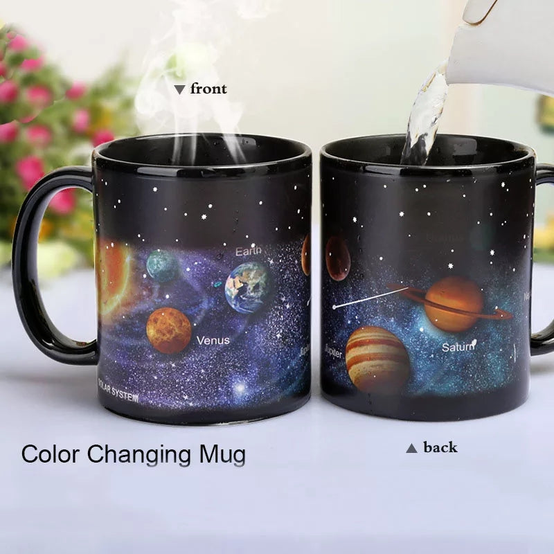 Outer Space Color Changing Mug - Go Go Kitchen Gadgets