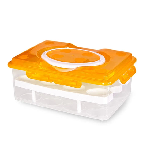 Reusable Egg Carton - Awesome Orange - Go Go Kitchen Gadgets