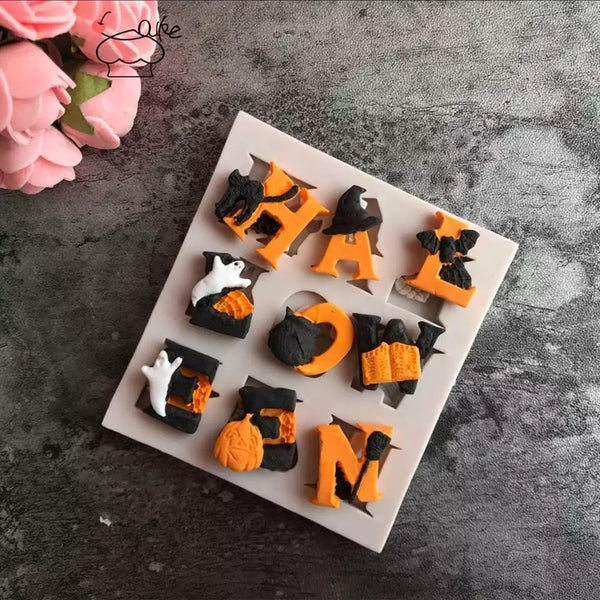 Halloween Letter Baking Mold - Go Go Kitchen Gadgets