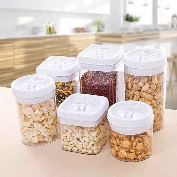 3 Piece Tight Seal Square Storage Solution - Go Go Kitchen Gadgets