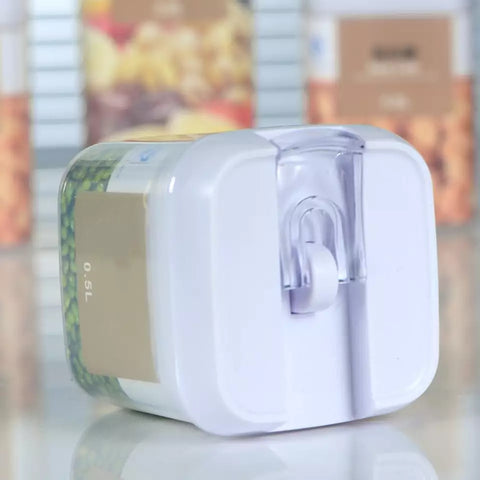 Tight Seal Square Storage Containers - 2 Cup Capacity - Go Go Kitchen Gadgets