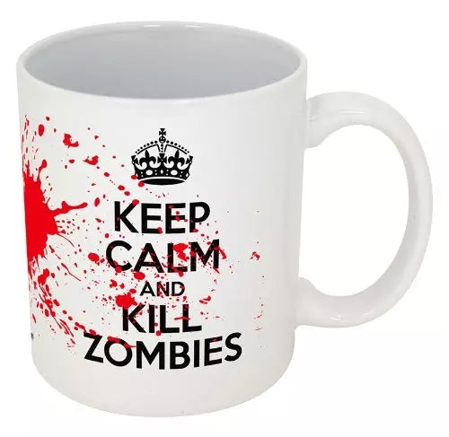 Ceramic Coffee Cup - Zombies - Go Go Kitchen Gadgets