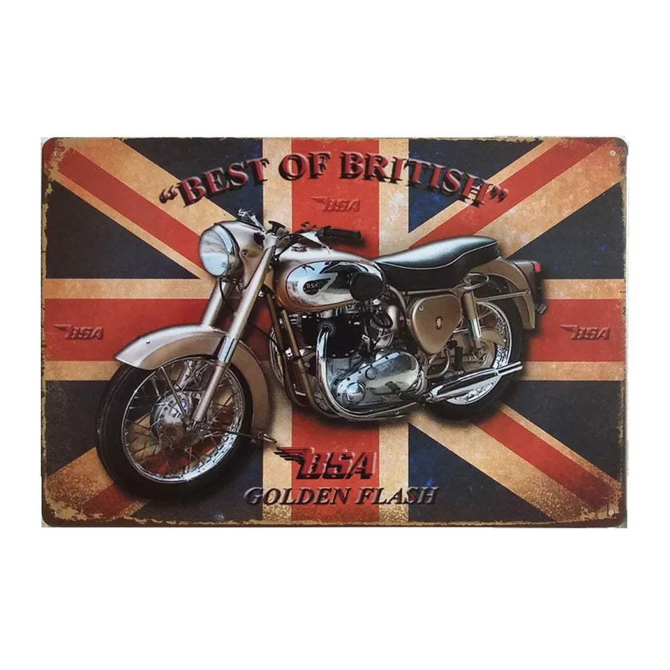 Best Of British Metal Sign - Go Go Kitchen Gadgets