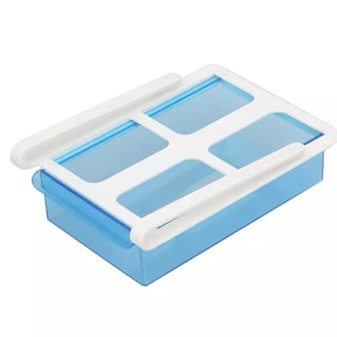 Sliding Fridge Drawer - Blue - Go Go Kitchen Gadgets