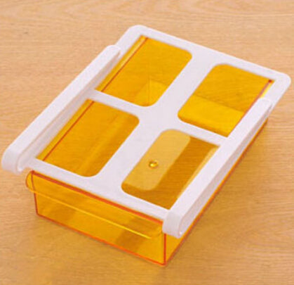Sliding Fridge Drawer - Orange - Go Go Kitchen Gadgets