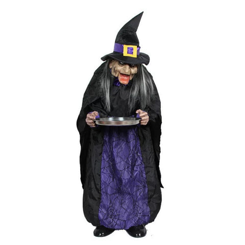 Standing Witch Halloween Decor - Go Go Kitchen Gadgets